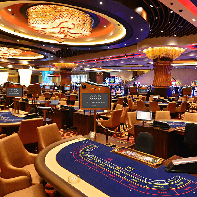 Casino Games City Of Dreams Manila World Class Casino Hotel